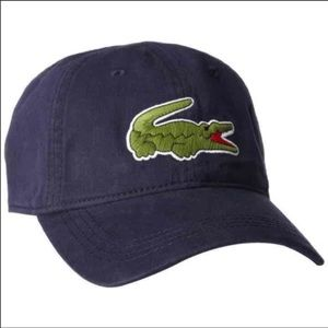 New Lacoste Unisex Navy Blue Hat Cap